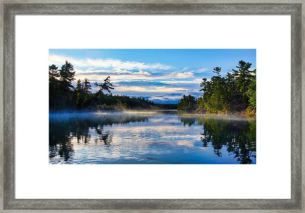Framed Print featuring the photograph Still Waters by Bryan Smith