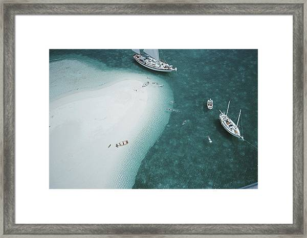 Stocking Island, Bahamas Framed Print by Slim Aarons