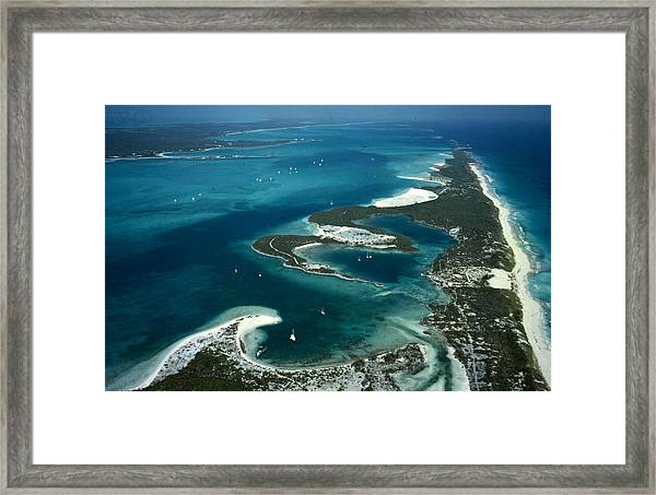 Stocking Island Framed Print