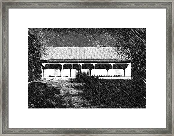 Stonecypher House Framed Print