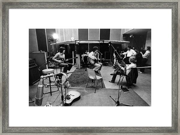 Stones Session Framed Print by Keystone Features