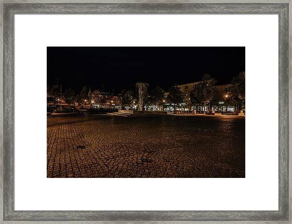 stora torget Enkoeping #i0 Framed Print