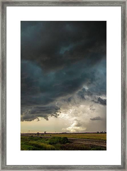 Storm Chasin In Nader Alley 012 Framed Print