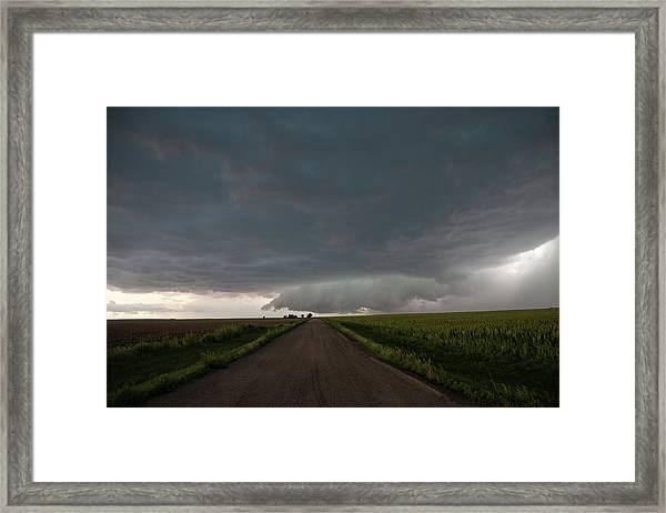 Storm Chasin In Nader Alley 025 Framed Print