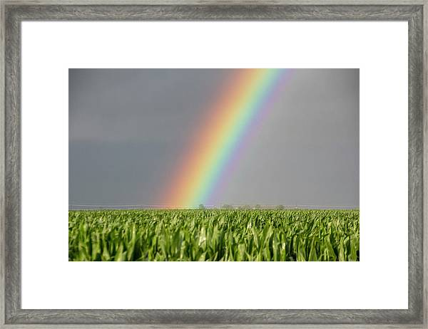 Storm Chasing After That Afternoon's Naders 023 Framed Print