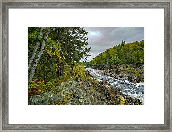 Storm Clouds At Jay Cooke Framed Print