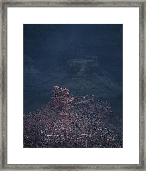 Storm Has Arrived, Grand Canyon Framed Print