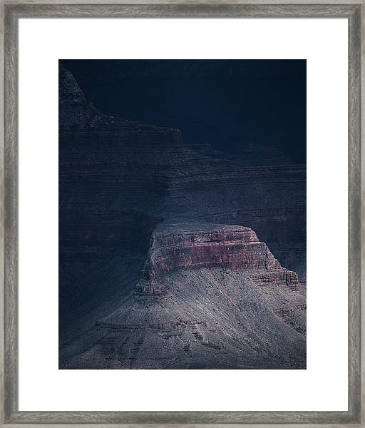 Storm In The Grand Canyon Framed Print