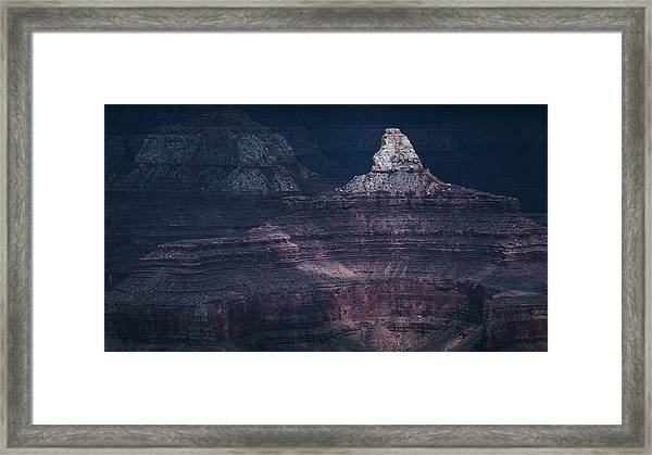 Storm In The Grand Canyon II Framed Print