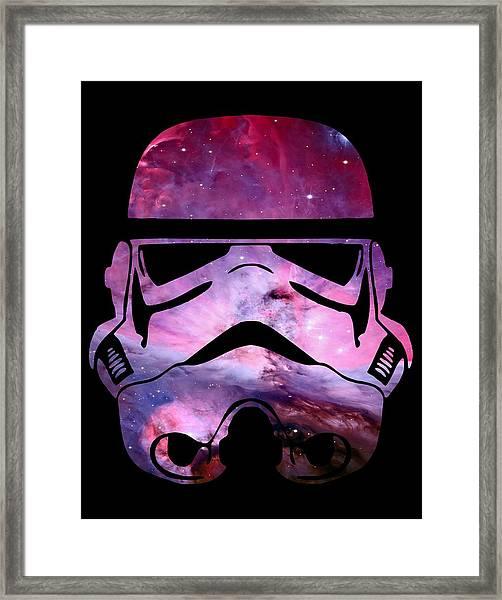 Storm Trooper Nebula Framed Print