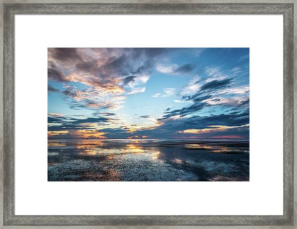 Stormy Reflections Framed Print
