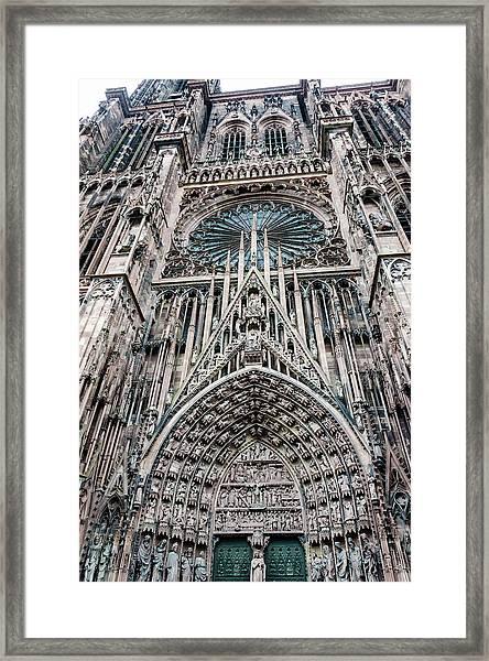 Strasbourg Cathedral Framed Print