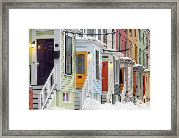 Stratton Place Framed Print