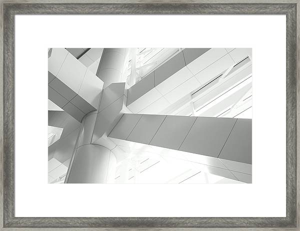 Structural Connection Framed Print