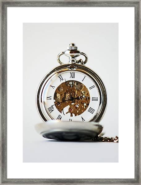 Studio. Pocketwatch. Framed Print