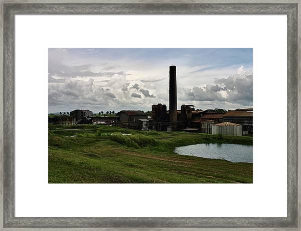 Sugar Factory I, Usine Ste. Madeleine Framed Print