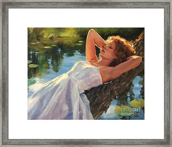 Summer Idyll Framed Print