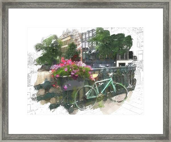Summer In Amsterdam Framed Print