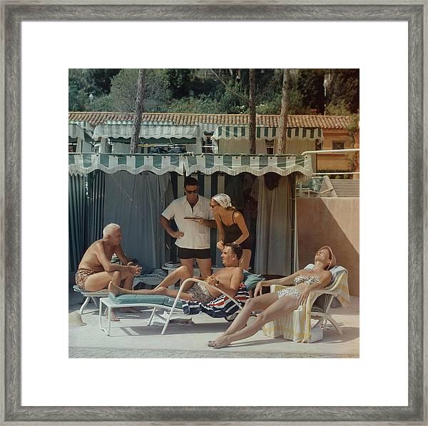 Summer In Monaco Framed Print