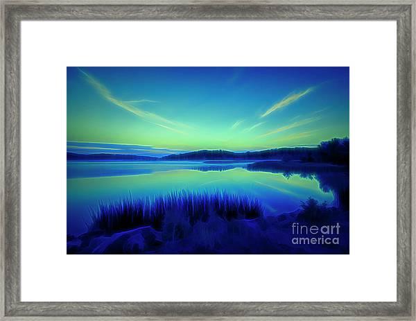 Summer Night Framed Print