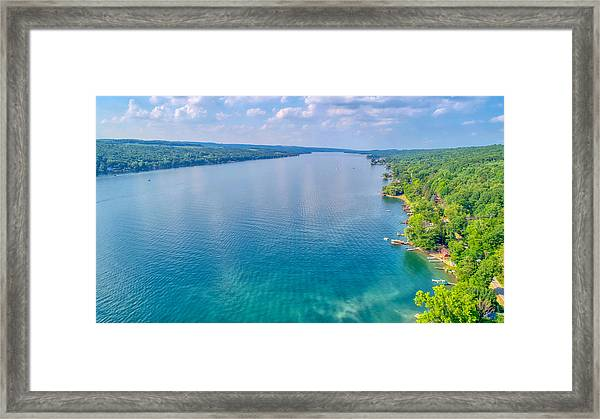Summer On Keuka Lake Framed Print