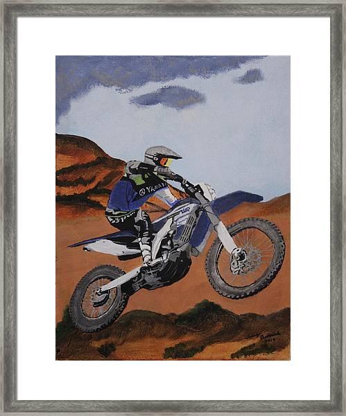 Summer Ride 2 Framed Print