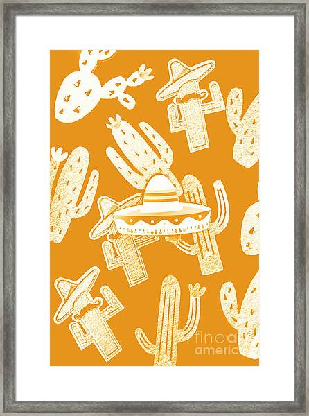 Summerbrero Framed Print