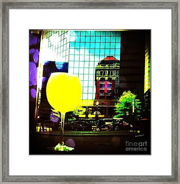 Summertime Downtown Lexington  Framed Print