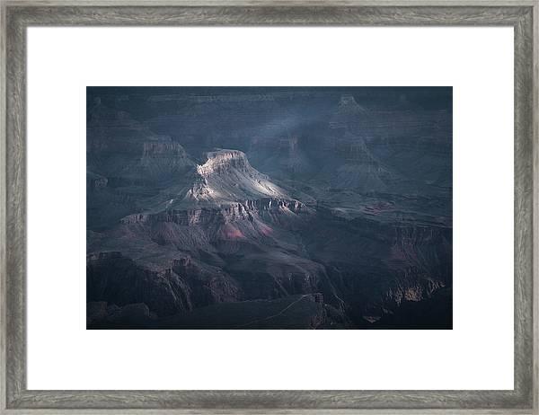 Sunbeamed, Grand Canyon, Az Framed Print