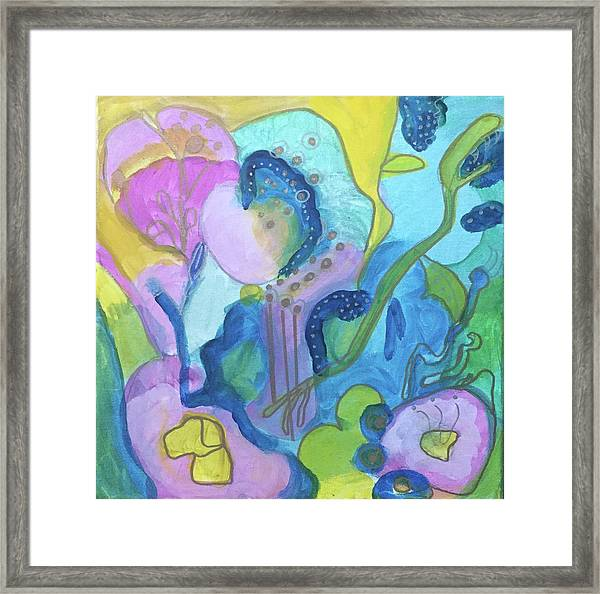 Sunny Day Abstract Framed Print