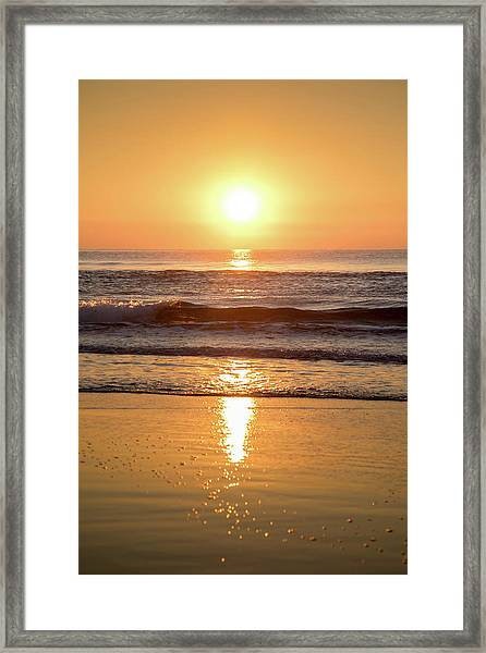 Sunrise At Surfers Paradise Framed Print