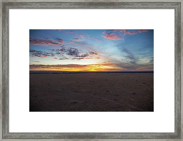 Sunrise Over The Mara Framed Print