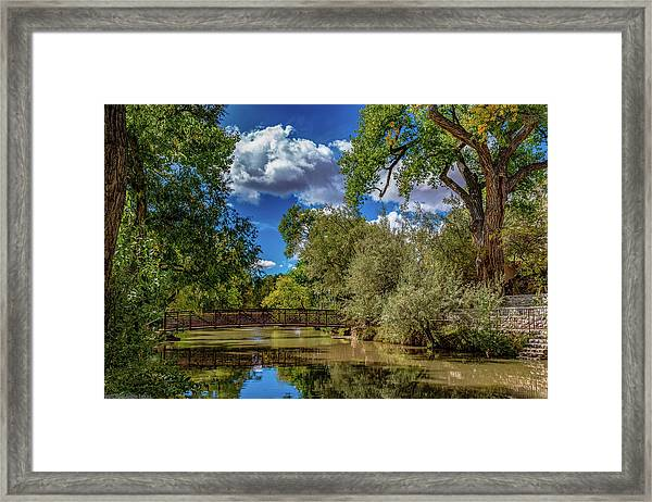 Sunrise Springs Framed Print