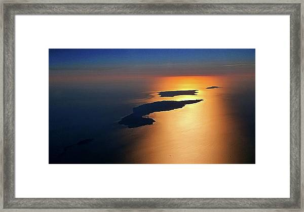 Sunset At Lyon Rock II Framed Print