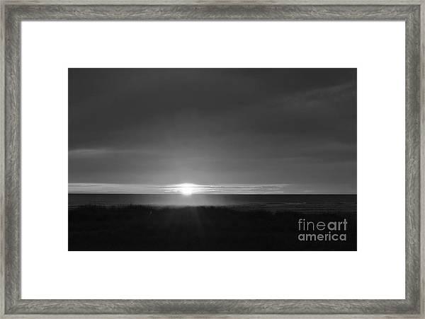 Sunset Horizon  Framed Print