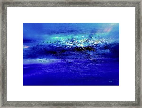 Superstorm At Sea Framed Print
