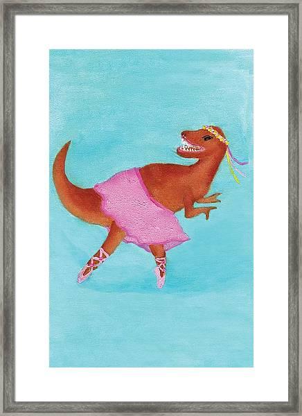 Swan Rex Framed Print