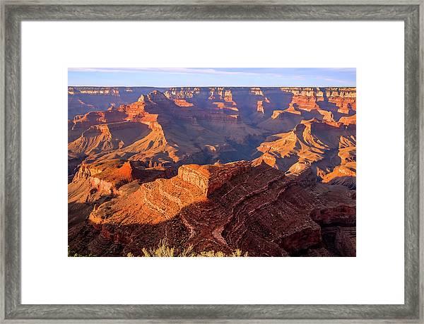Sweet Sunset Framed Print