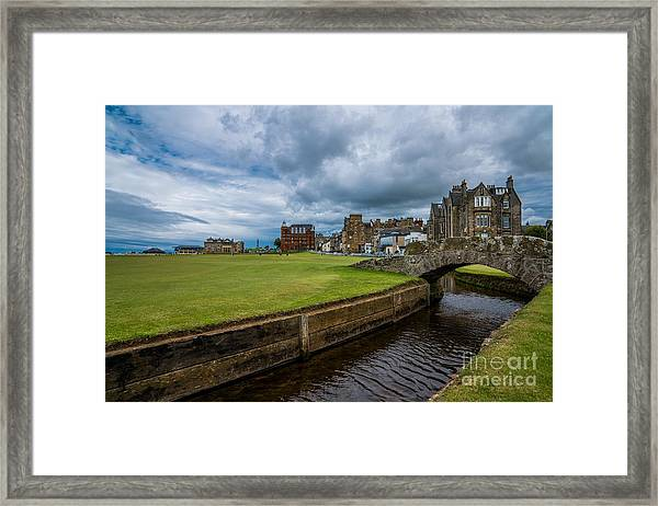 Swilcan Burn - The Old Course  Framed Print