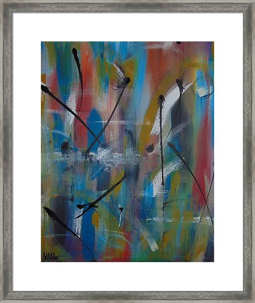 Swimming Thoughts Framed Print