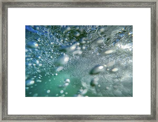 Swoosh Framed Print
