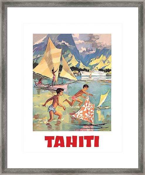 Tahiti Framed Print