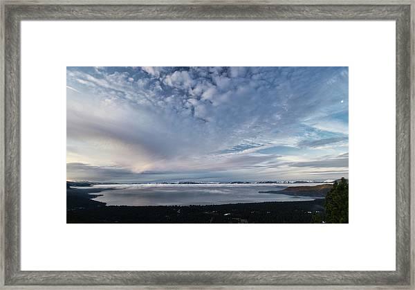 Tahoe Sky Framed Print