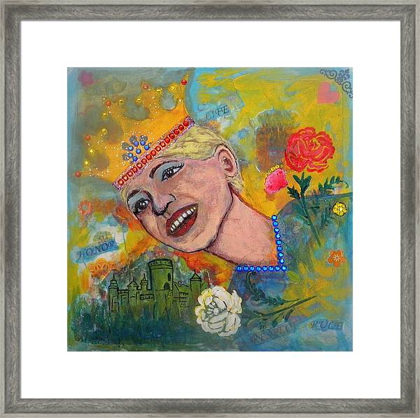 Taking Back Your Crown Framed Print