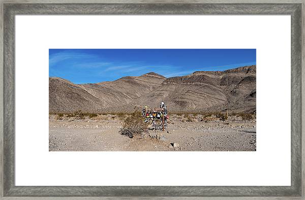 Framed Print featuring the photograph Teakettle Junction I by William Dickman