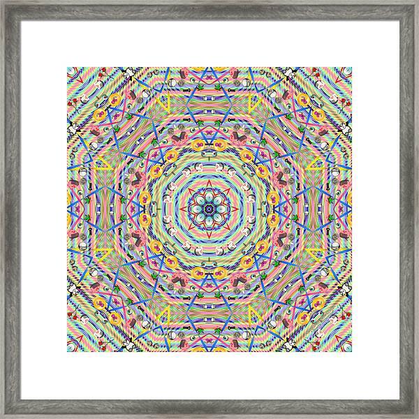 Teddy Bear Tears 1146k8 Framed Print by Brian Gryphon
