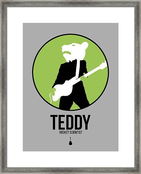 Teddybear Framed Print