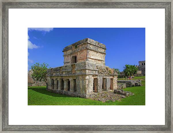 Temple Of The Frescoes Framed Print
