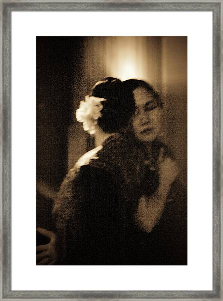 Framed Print featuring the photograph Tenderness by Catherine Sobredo