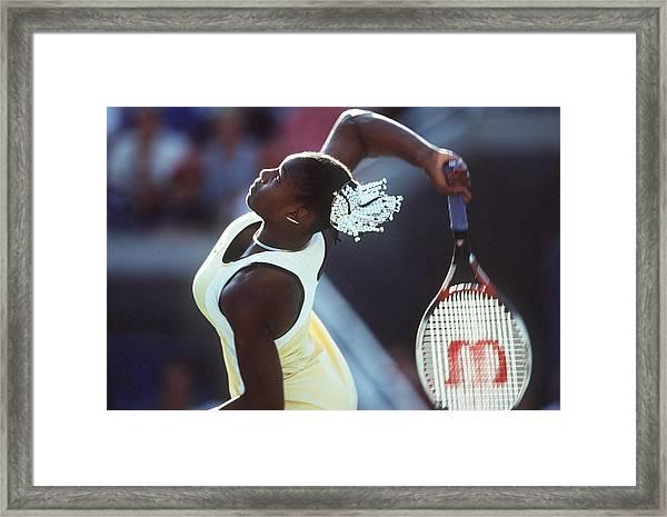Tennis Us Open 1999 Framed Print